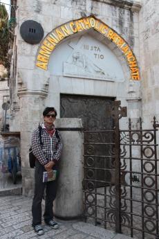 第三站是耶穌第一次跌倒的地方,現在是亞美尼亞教會
