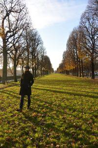 冬季蕭蕭的巴黎,也不乏少女的情懷