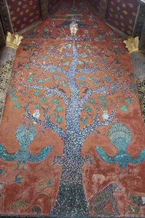 世界遺產的香通寺著名的生命之樹