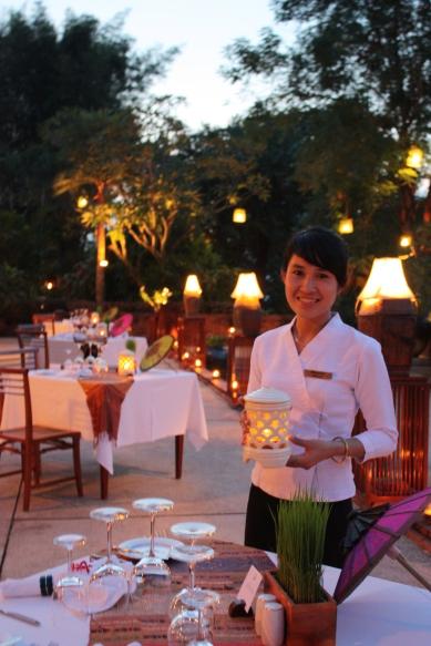 五星級的服務出現在深山中的寮國