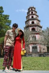 越南中部會安佛塔