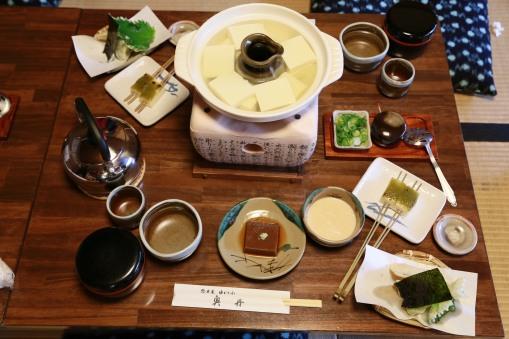 三百八十年了,還是獨沽一味 湯豆腐