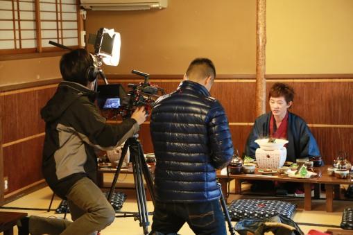 拍攝日本最古老的豆腐店