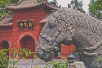洛陽白馬寺, 佛教傳入中國後興建的第一座寺院