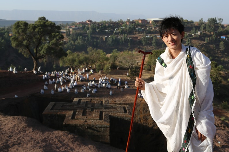 世界遺產地下十字教堂,是埃塞俄比亞的國家名片。